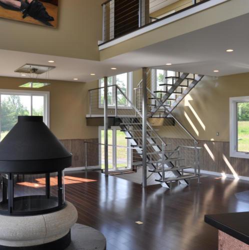 Custom home Interior - Bloomville, NY