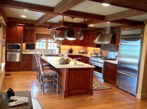 Custom home Interior - Roxbury, NY