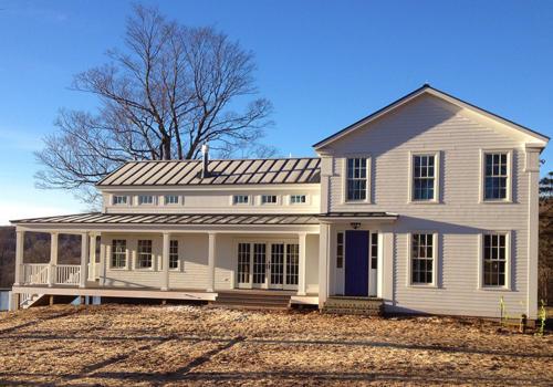 Custom home - Bovina, NY